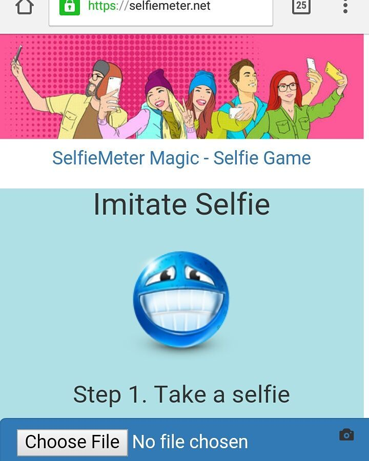 SelfieMeter.net - Selfie spil
